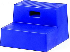 Horsemen S Pride Mounting Step 2 Step Blue / 15 X 18 3/4 In - 009