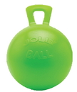 Horsemen S Pride Jolly Ball For Equine - Green/Apple - 10 Inch