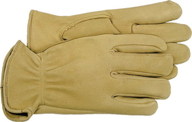 Boss Unlined Deerskin Glove Tan / Small - 4085S