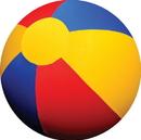 Horsemen S Pride Jolly Mega Ball Beachball Cover For Equine - Multi Colored - 40 Inch
