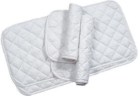 Imported Horse &Supply Quilted Leg Wrap White / 14 Inch - 106245