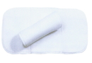 Mustang No Bow Bandage Wrap For Horses - White - 14Inch / 2 Pack