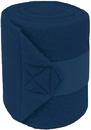 Mustang Polar Fleece Bandages For Horses - Navy - 9 Foot / 4 Pack