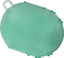 Imported Horse &Supply Gel Scrubbies For Horses - Green - 6 Inch
