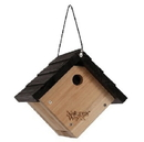Nature's Way Bird Products Wren Traditional Hanging Bird House - Cedar - 8X8.875X8.125In