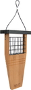 Nature's Way Bird Products Tail-Prop Suet Feeder - Bamboo - 14X7.875X3 In