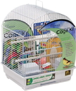 Prevue Pet Round Roof Bird Cage Kit - White - Small