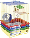 Prevue 2 Story Gerbil & Hamster Cage - 14X11X15.25 In