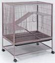 Prevue Rat/Ferret/Chinchilla Cage - Brown - 31 X 20.5 X 40