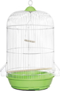 Prevue Round Cage - Assorted - 13X13X26/6 Pack
