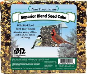 Pine Tree Farms Superior Bird Cake / 2 Pound - 1371