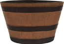 Southern Patio Hdr Whiskey Barrel Planter - Natural Oak - 15.5 Inch