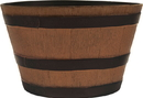 Southern Patio Hdr Whiskey Barrel Planter - Natural Oak - 22.5 Inch