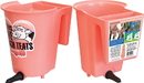 Tdl Agritech Single Teat Reversible Bucket Feeder - Peach - 6 Quart