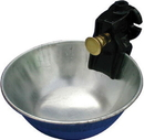 Smb Metal Push Button Water Bowl For Cattle - 5 Liters/Min