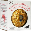 J.C. Quarter Horse Uncle Jimmy S Hangin  Ball Treats For Horses - Apple - 3 Pound