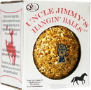 J.C. Quarter Horse Uncle Jimmy S Hangin  Ball Treats For Horses - Molasses - 3 Pound