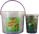 J.C. Quarter Horse Squeezy Buns Treats For Horses - Molasses - 3 Pound