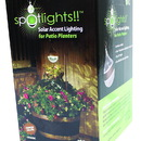 Very Cool Stuff Spotlights Solar Lighting For Patio Planters - Copper - 4X36 Inch