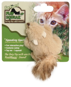 Ourpets Play-N-Squeak Backyard Squirrl - Ct-10500