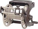 Ames True Temper King Wall Mount Hose Reel Camel / 225 Feet - 23-887