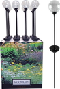 Woods/Div.Coleman Cable Moonrays Crackle Globe Led Stake Light Display - Assorted - 16 Pc