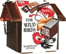 C & S Ez Fill Bottom Suet Feeder With Roof - Black/Copper - 5.5X6.5X5.8 In