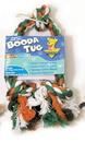 Booda Booda Tug 3 Knot Rope Dog Toy - Multi Colored - Large