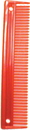 Imported Horse &Supply Animal Comb - Red - 9 Inch