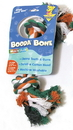 Booda Booda Bone 2 Knot Rope Bone Dog Toy - Multi Colored - Extra Large
