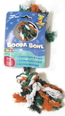 Booda Booda Bone 2 Knot Rope Bone Dog Toy - Multi Colored - Medium