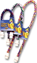 Booda Comfy Perch Small Cable Perch For Birds - Multi Colored - 23X1X1 Inch