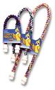 Booda Comfy Perch Medium Cable Perch For Birds - Multi Colored - 34X1.3X1.3 Inch