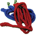 Partrade Cotton Horse Lead - Navy - 3/4 In X 10 Ft