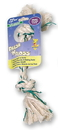 Booda Fresh-N-Floss 2-Knot Rope Bone Dog Toy - Spearmint - Small