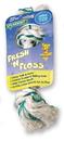 Booda Fresh-N-Floss 2-Knot Rope Bone Dog Toy - Spearmint - Large