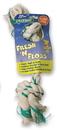 Booda Fresh-N-Floss 2-Knot Rope Bone Dog Toy - Spearmint - Extra Large
