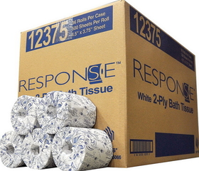 National Packaging Srv Response Toilet Tissue 2Ply White - 12375