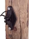 Dare Wood Post Pinlock Insulator - Black - 25 Pack