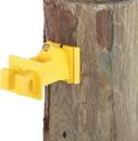 Dare Snug Wood Post Insulator - Yellow - 25 Pack