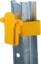 Dare U-Post Tape Insulator - Yellow - 25 Pack