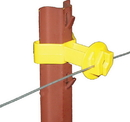 Dare Chain Link U Post Insulator - Yellow - 25 Pack