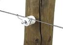 Dare Wire Fastening Clip - Silver - 100 Pack