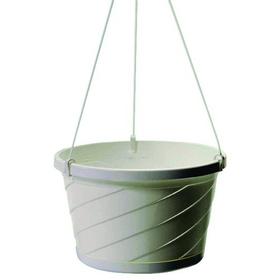 Myers Industries L&Ggroup Euro Hanging Basket White / 10 Inch - Hsi10008