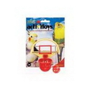 Jw Pet Activitoys Birdie Basketball