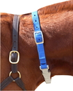 Imported Horse &Supply Cribbing Strap For Horses - Blue - Adjustable