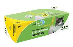 Van Ness Plastic Molding Drawstring Cat Pan Liners 8Pk / Large - Dl2