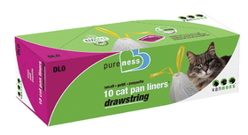 Van Ness Plastic Molding Cat Pan Liners 10Pack / Small - Dlo