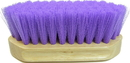 Imported Horse &Supply Pony Brush - Purple - 6.5 X 2.25 Inch