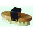 Imported Horse &Supply Elite Animal Brush - White - 7.5 X 3.5 Inch